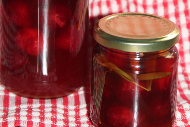 Pickles de cerises aux épices