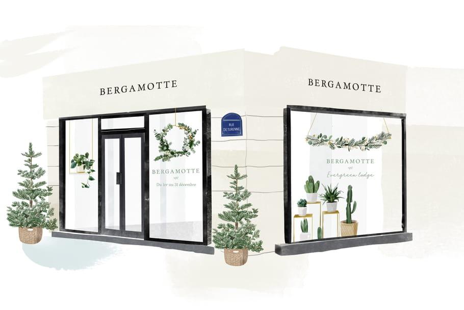 A Paris, un pop-up store Bergamotte sort de terre!