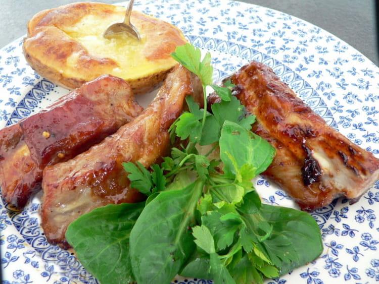 Recette de travers de porc au caramel la recette facile - Cuisiner travers de porc ...