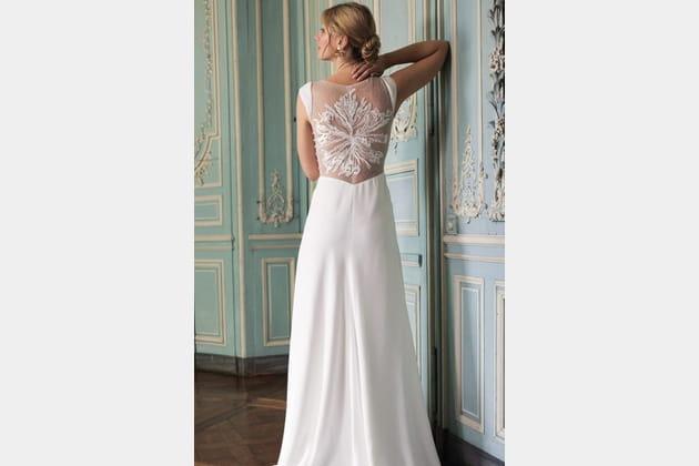 Robe de mariée Bertille, Marie Laporte 2020