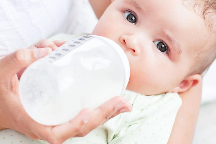 Alimentation du bébé à 4mois