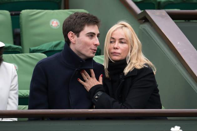 Emmanuelle Béart et son fils Yohan Moreau