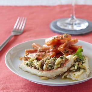 filets de rouget gratiné au cidre à la provençale