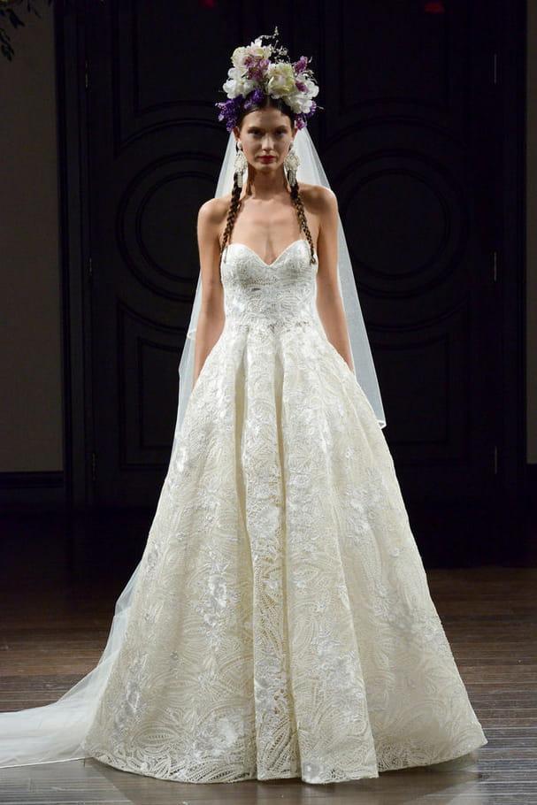 Robe de mariée Naeem Khan