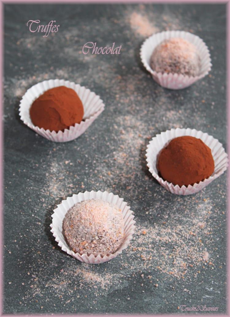Recette De Truffes Au Chocolat Inratables La Recette Facile