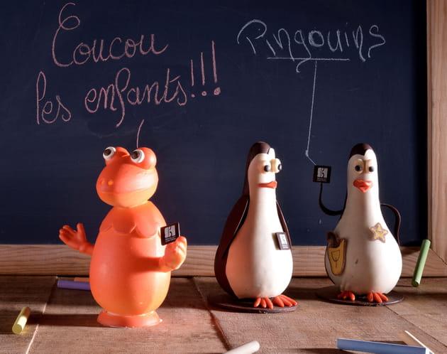 Figures de dessins animé de Sébastien Bouillet
