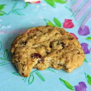 biscuits aux flocons d'avoine et aux raisins secs