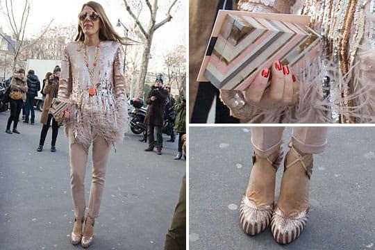 Fashion week : les street looks des défilés parisiens PAP automne-hiver 2011-2012 15