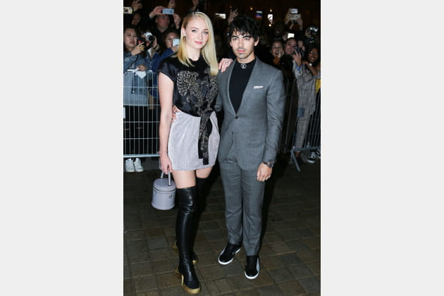 Sophie Turner et Joe Jonas au défilé Louis Vuitton