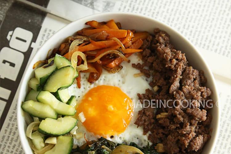 Bibimbap : la meilleure recette de ce plat coréen