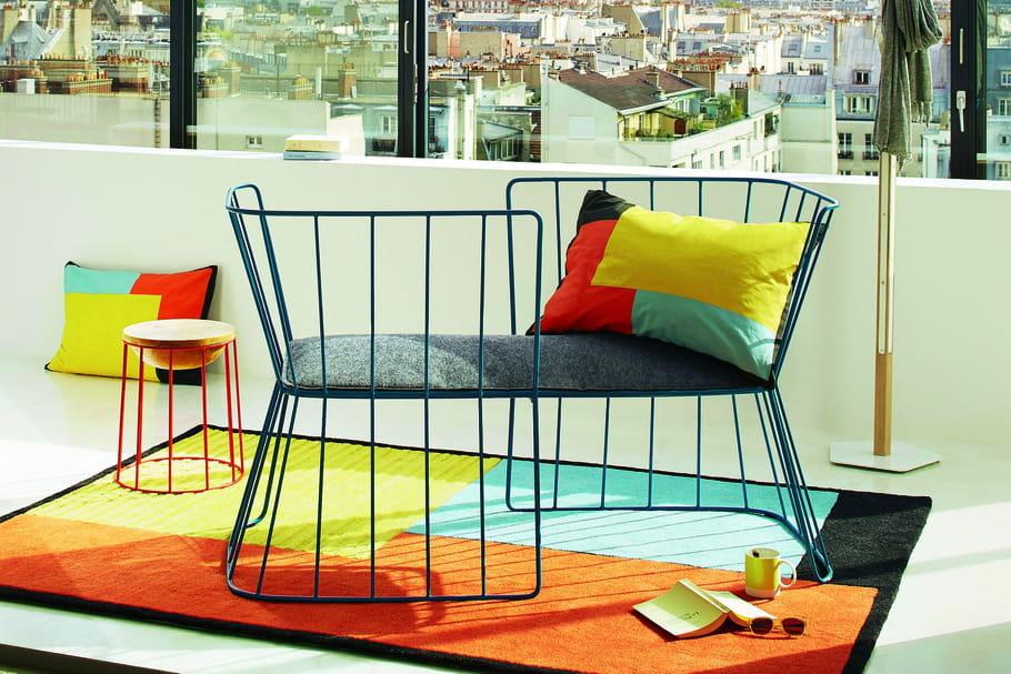 L 39 objet du d sir la chaise de conversation gallery s for La redoute bensimon meubles