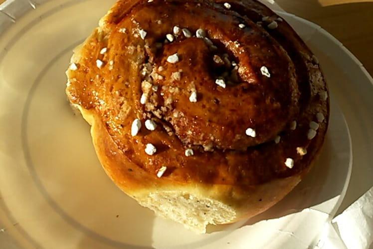Kanelbullar, brioches suédoises à la cannelle
