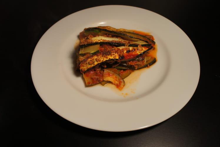 Lasagnes diététiques à la courgette