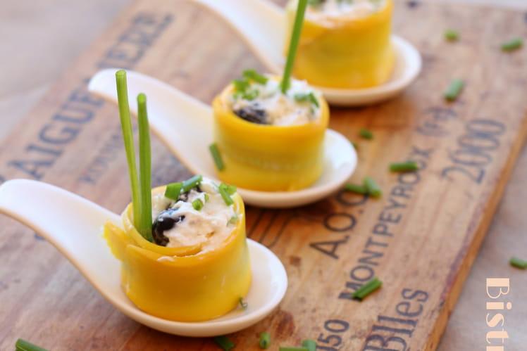 recette de maki de courgette jaune : la recette facile