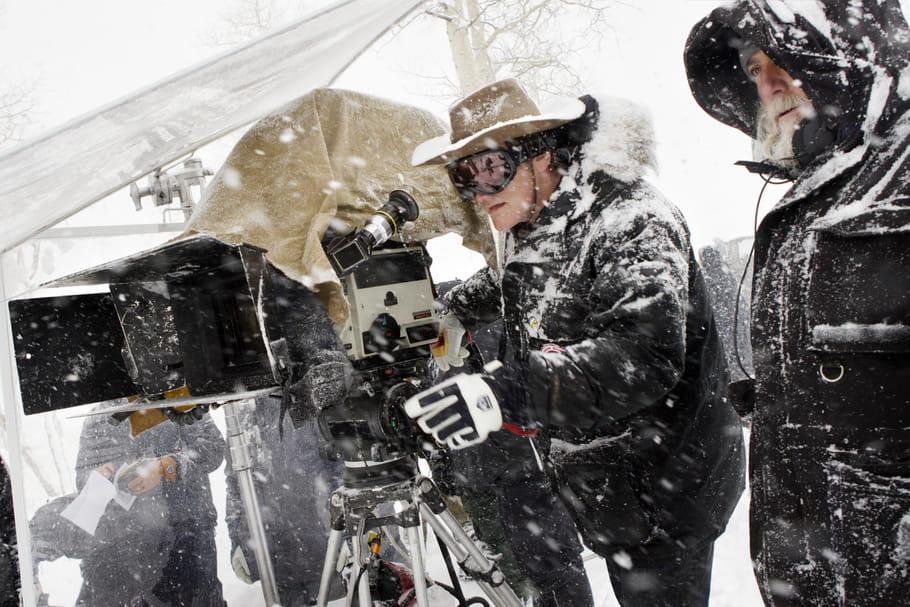 Tarantino, Huit Salopards et une salle pleine de journalistes