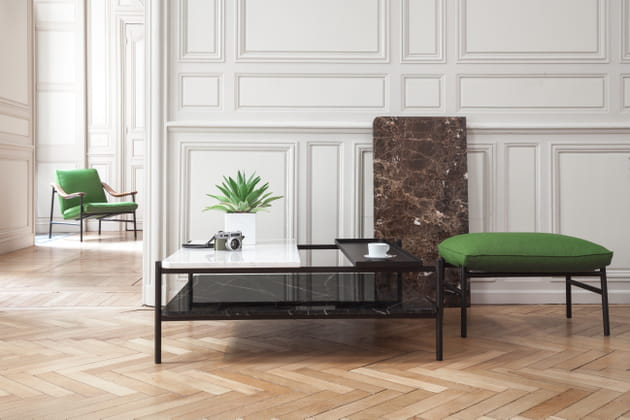 Table Bagneres par Sylvain Willenz pour Versant Edition