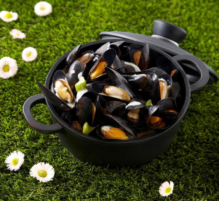 recette de cocotte de moules la bi re pelforth de printemps la recette facile. Black Bedroom Furniture Sets. Home Design Ideas