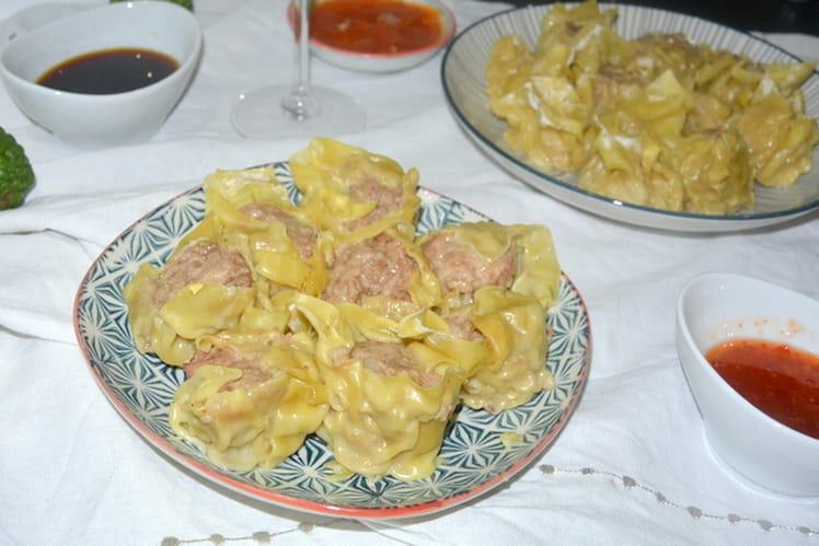 Bouchons réunionnais – Porc Crevette Combava