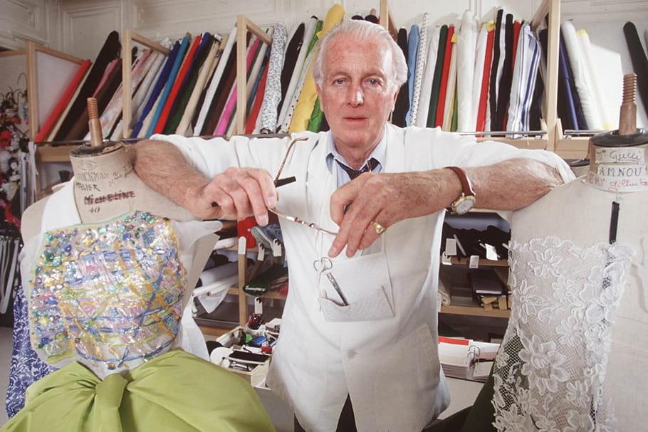 Décès d'Hubert de Givenchy, couturier majeur