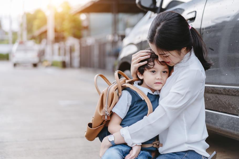 Des pleurs pour sa rentrée en maternelle: comment le rassurer?