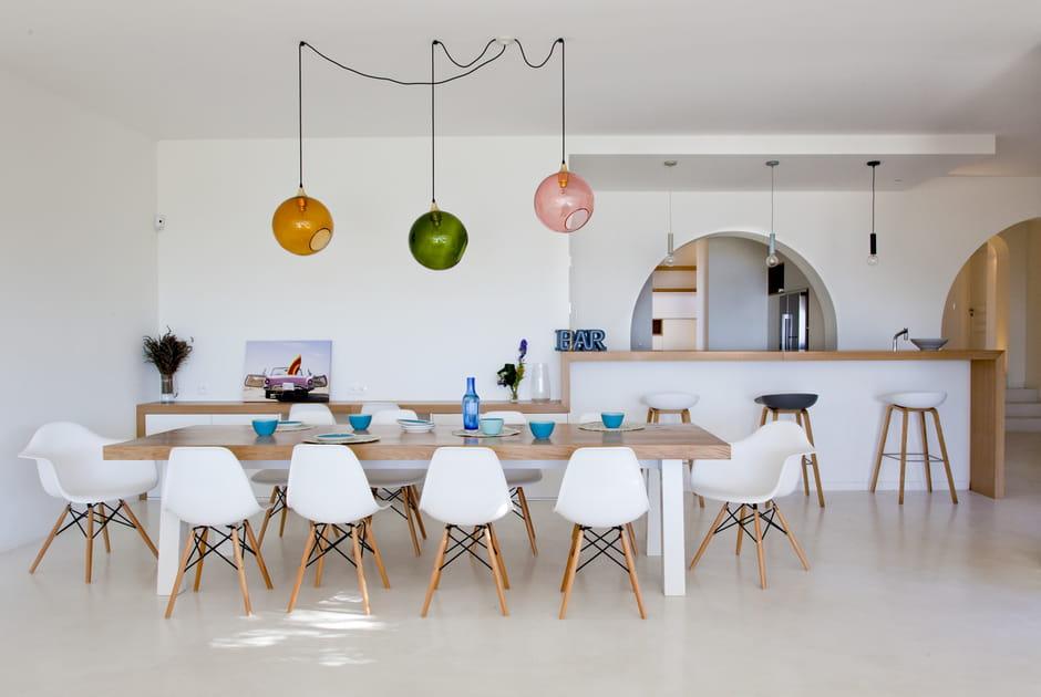 Une table XXL pour accueillir famille et amis