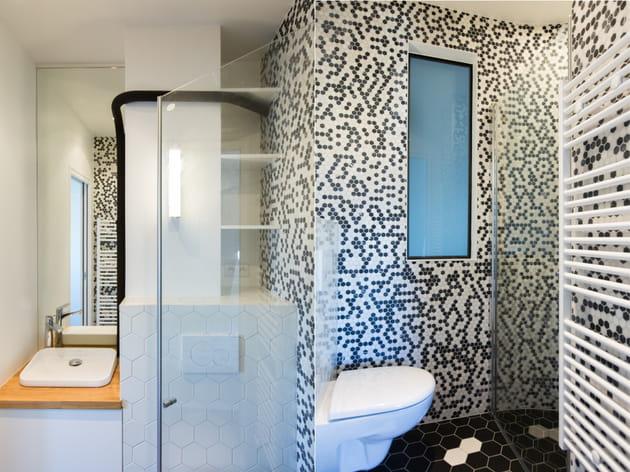 Une salle de bains en opposition