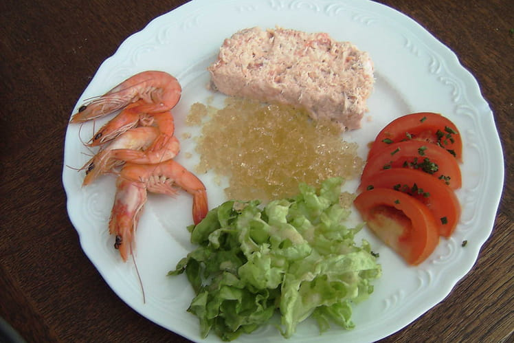 Assiette de poissons