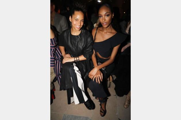 Alicia Keys et Jourdan Dunn