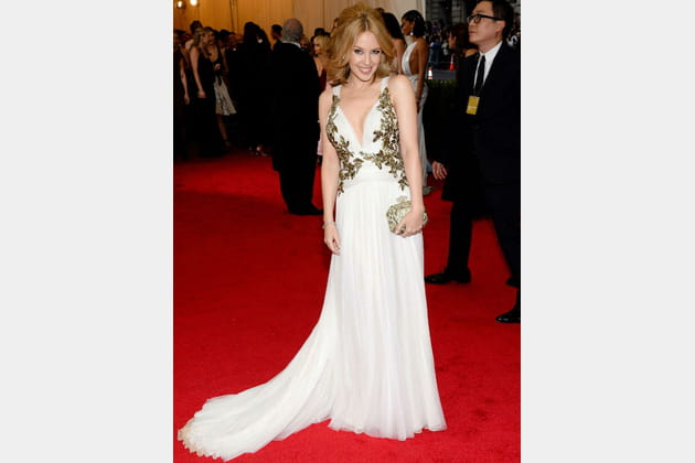 Kylie Minogue Met Ball 2014