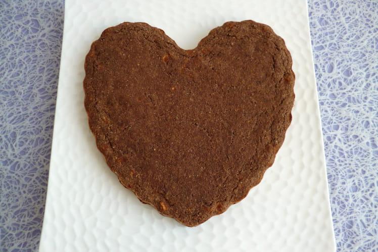 Gâteau pomme amande cacao coco avec sarrasin souchet lupin