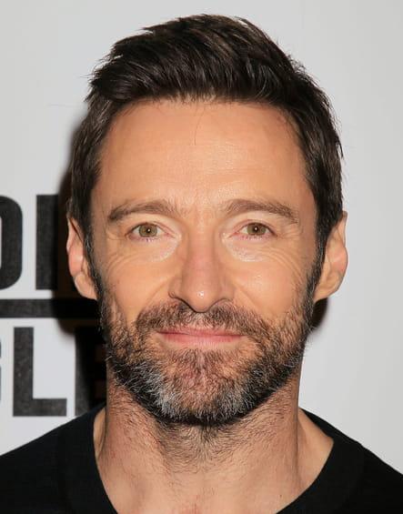 Hugh Jackman avec une barbe