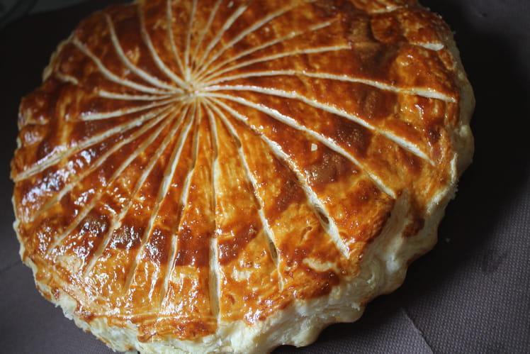 Galette des rois crème d'amande caramel beurre salée