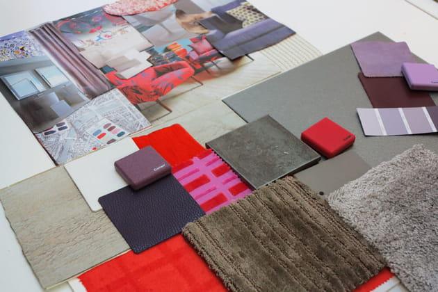 Planche de styles et matières