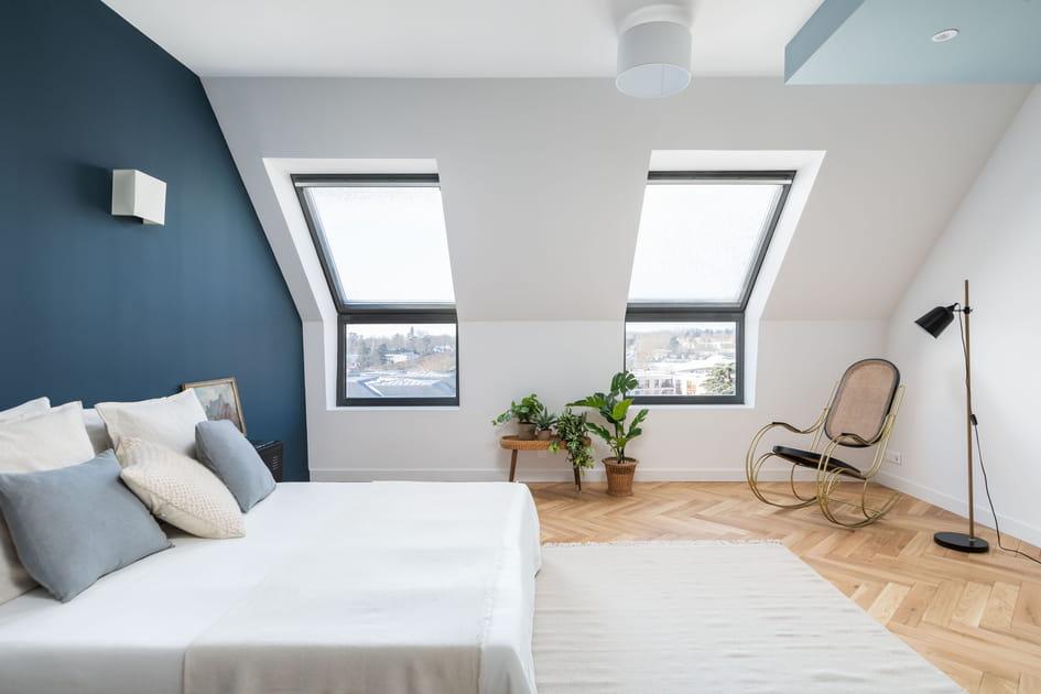 Une chambre qui fait le plein de lumière!