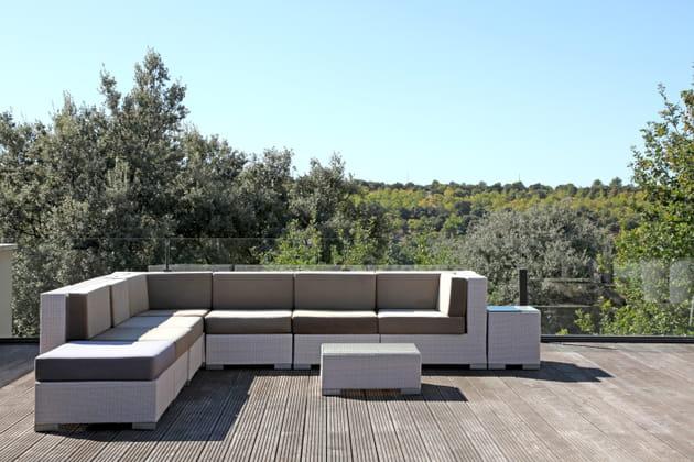 Une terrasse sur la nature