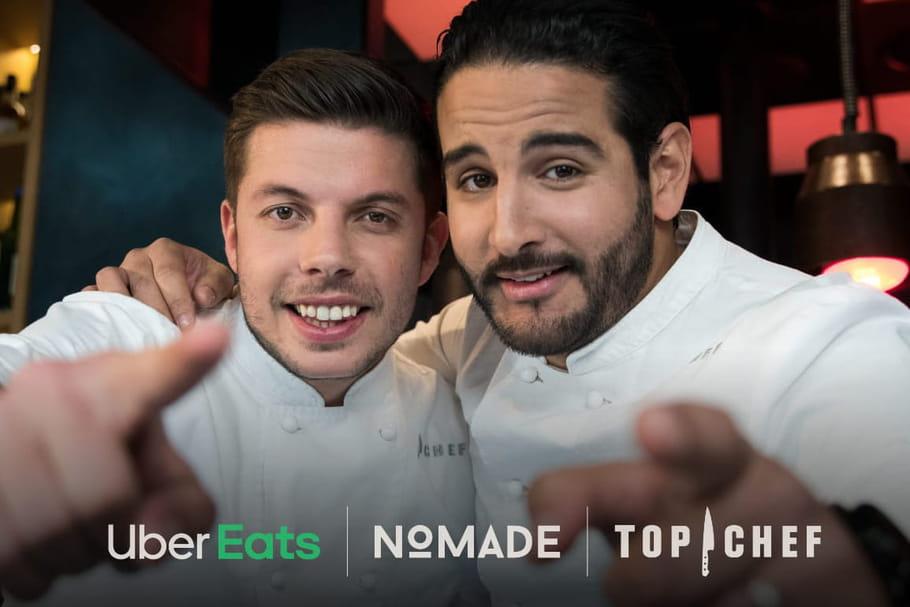 UberEats: comment commander le menu de Top Chef?