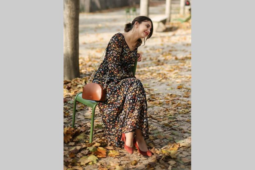 Comment Porter La Robe Longue Fleurie En Automne 20 Looks Inspirants
