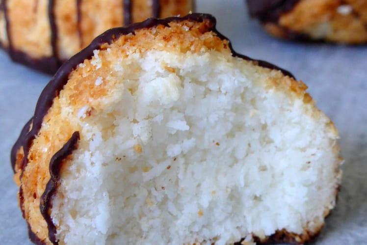 Rochers à la noix de coco ou congolais