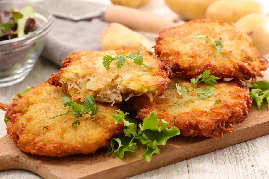 Comment faire de parfaits paillassons de pommes de terre?