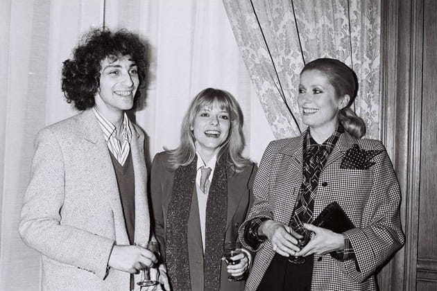 France Gall, Michel Berger et Catherine Deneuve