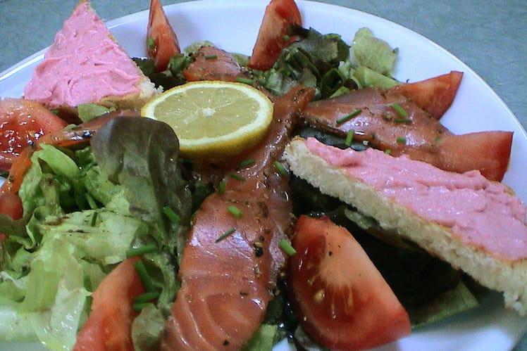 Salade d'inspiration marine