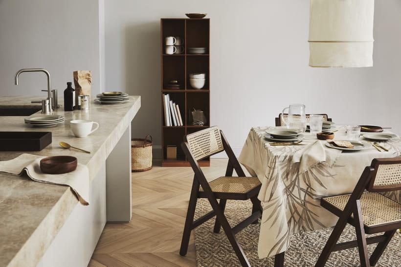 D co de salle manger nos id es pour un bel espace repas - Table de salle a manger en bois ...