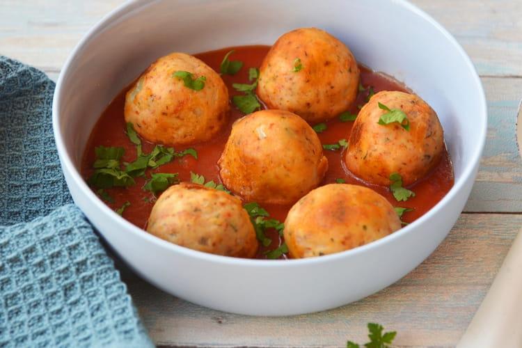 Boulettes tomates & oignons