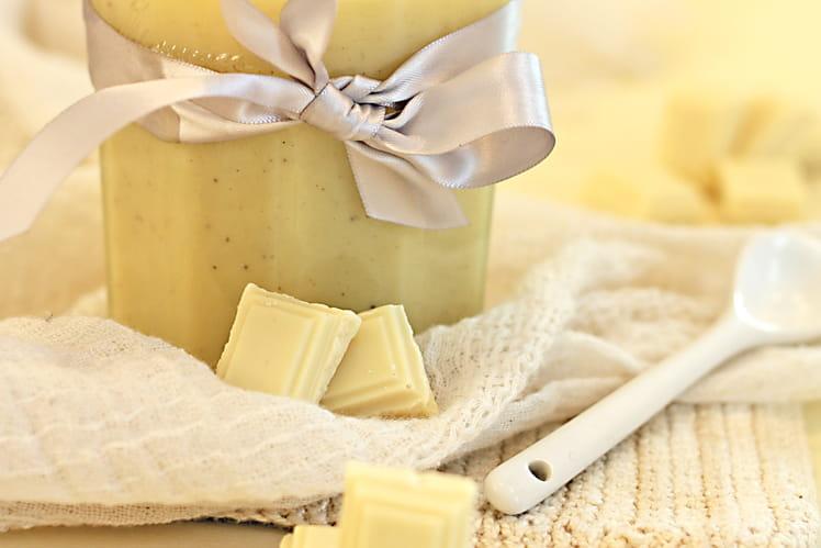 Pâte à tartiner chocolat blanc