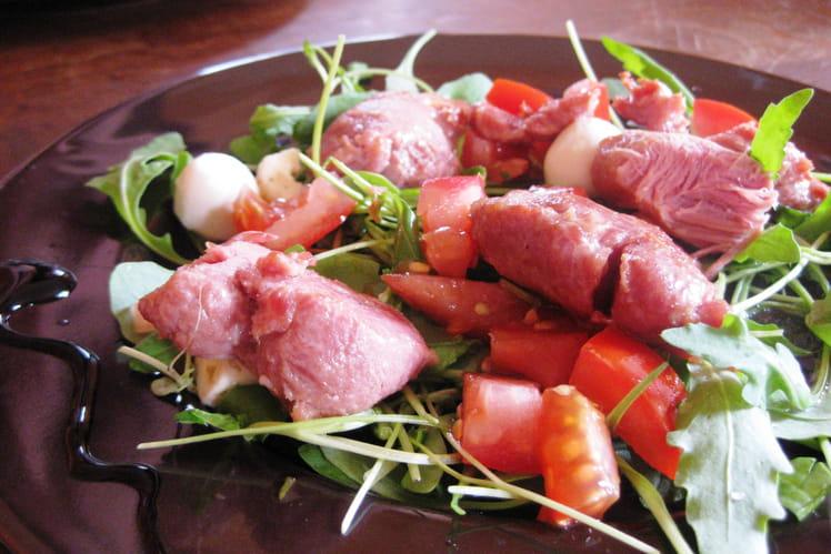 Salade de sot-l'y-laisse de dinde