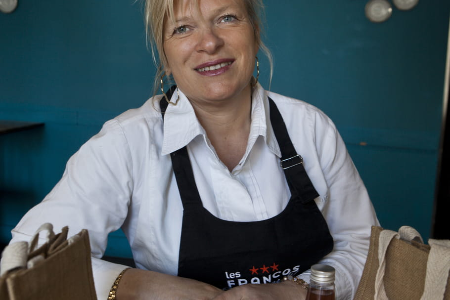 Flora Mikula, marraine des Francos Gourmandes