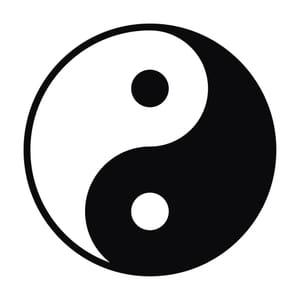 Symbole du Yin et Yang