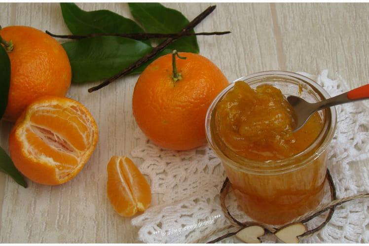 Marmelade de clémentine de Corse et vanille