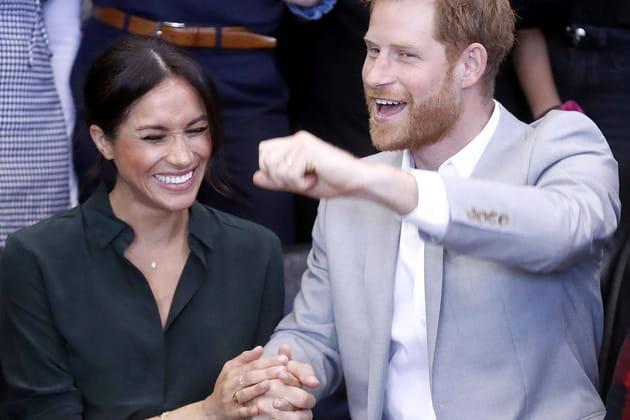 Meghan Markle et le prince Harry surexcités dans le Sussex