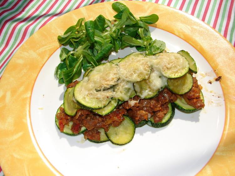Recette de gratin de viande hach e aux courgettes la - Viande facile a cuisiner ...